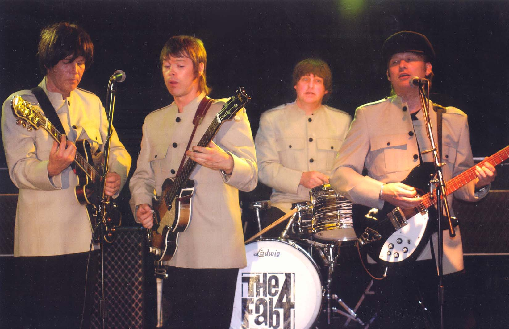 Beatles tribute band the Fab Four